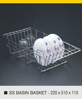 basin basket
