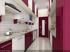 Double Line Kitchen