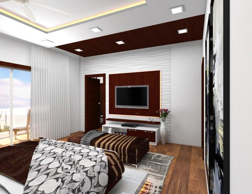 Entertainment unit interior design