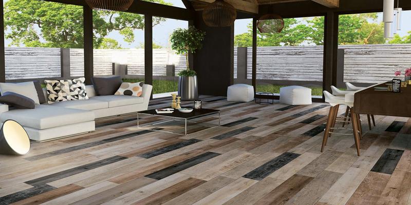 multi color floor design
