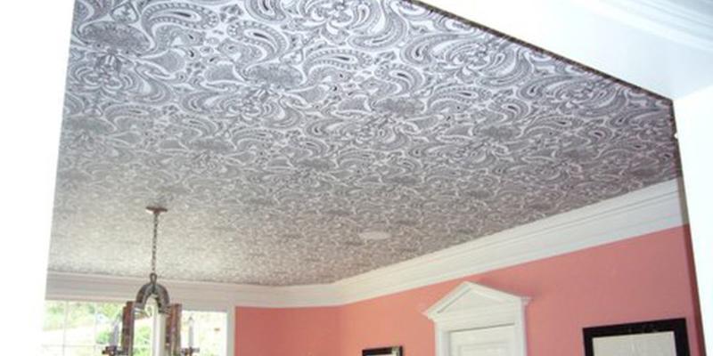 wallpaper for ceiling design