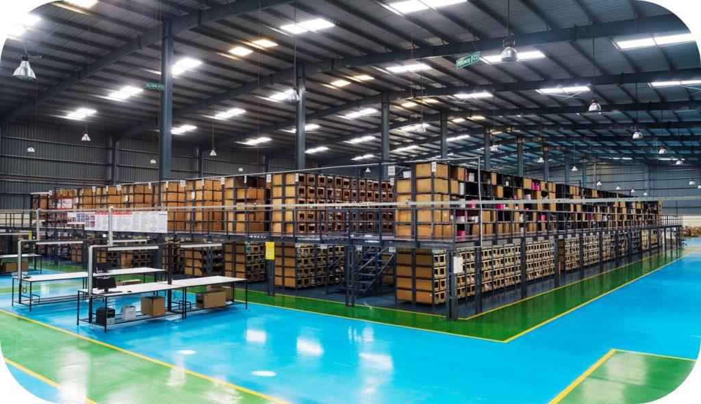 Warehouse interior design