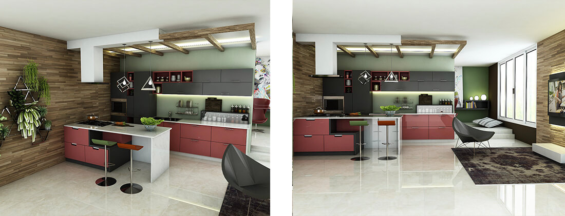 Modern Design with a Modish Style